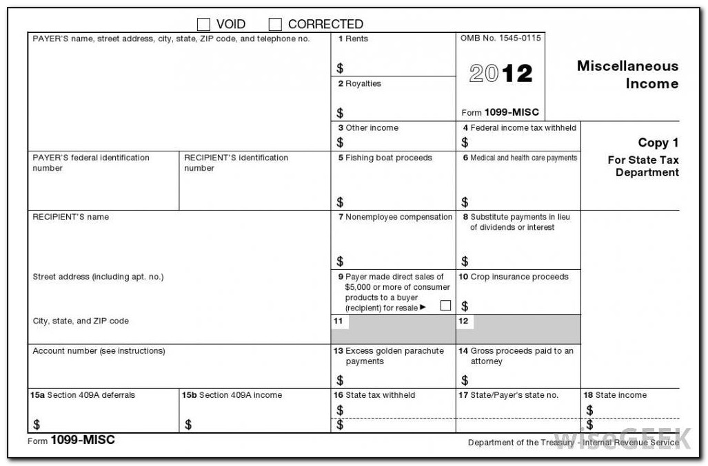 Can You Print 1099 Misc Forms Online