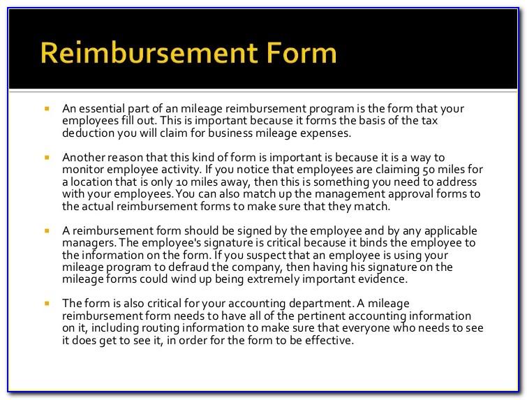 Car Allowance Form Tax