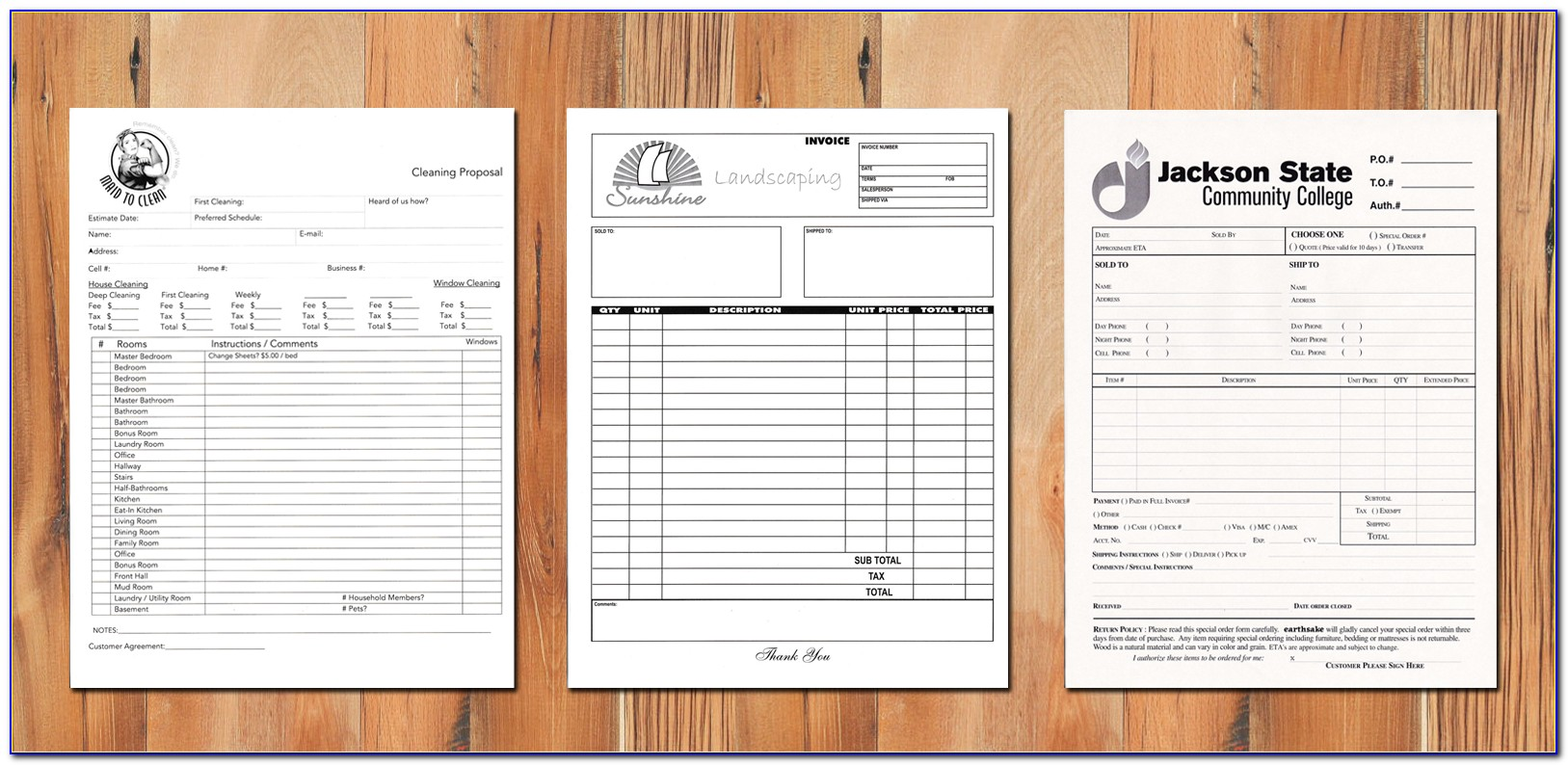 Carbonless Form Printing Canada