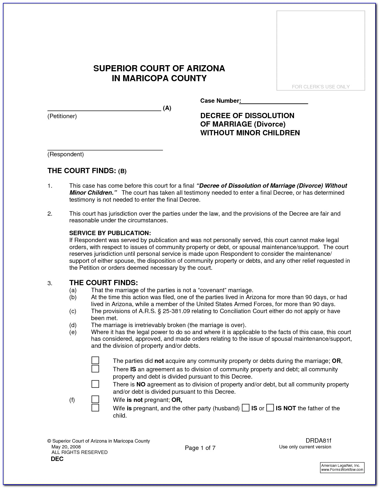 Cleveland County Oklahoma Divorce Forms