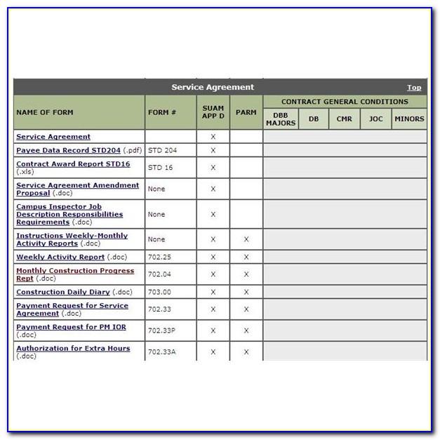 Construction Project Management Template