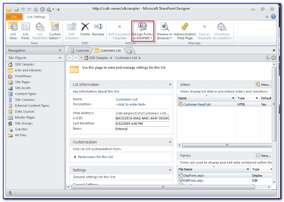 Creating Forms In Sharepoint 2010 Without Infopath
