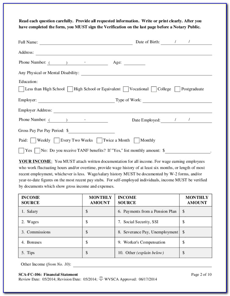 Divorce Forms Chesapeake Va