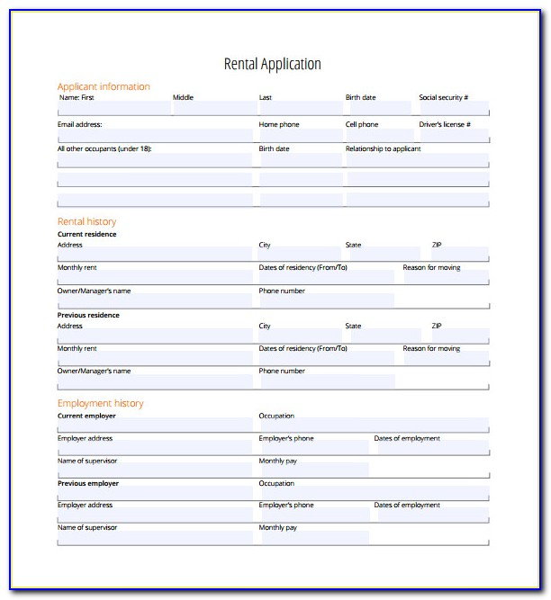 Editable Pdf Forms Sample