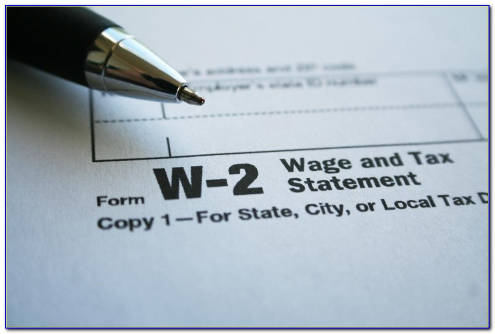 Employer Withholding W2 Form