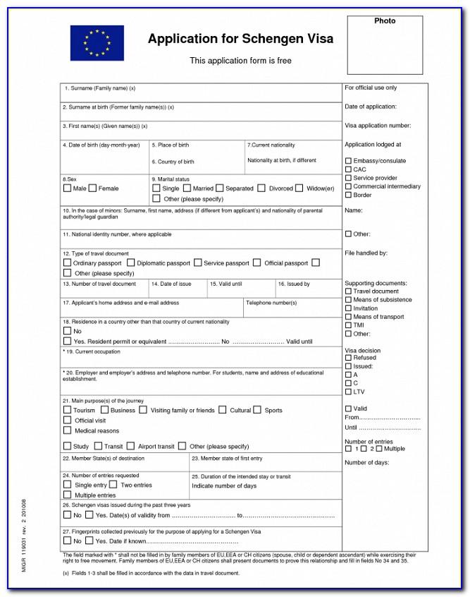 Ethiopian Consulate Visa Application Form Dubai