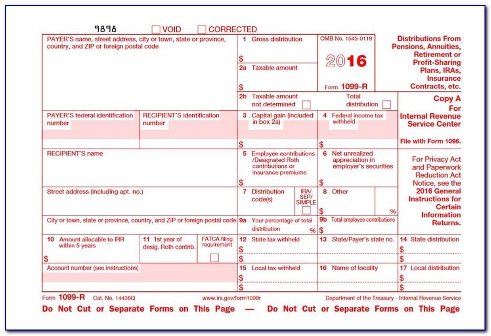 File A Tax Form 1099