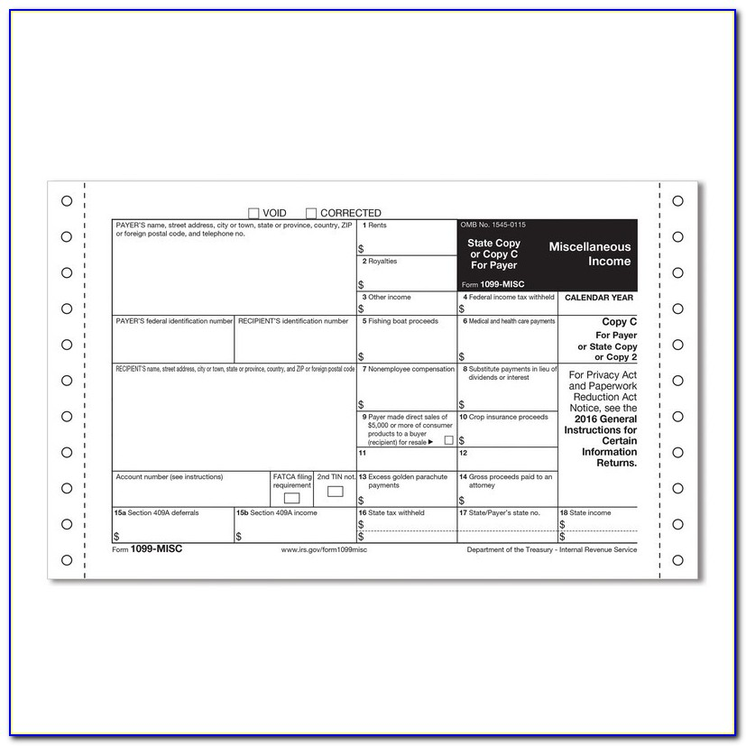 Filing Form 1099 Misc Late