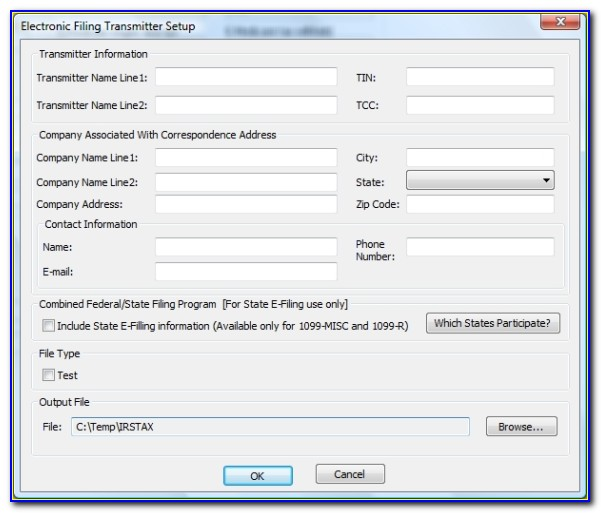Filing Irs Form 1099 Misc
