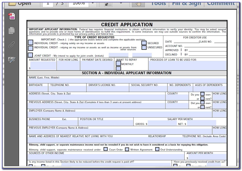 Fillable Pdf Forms Online