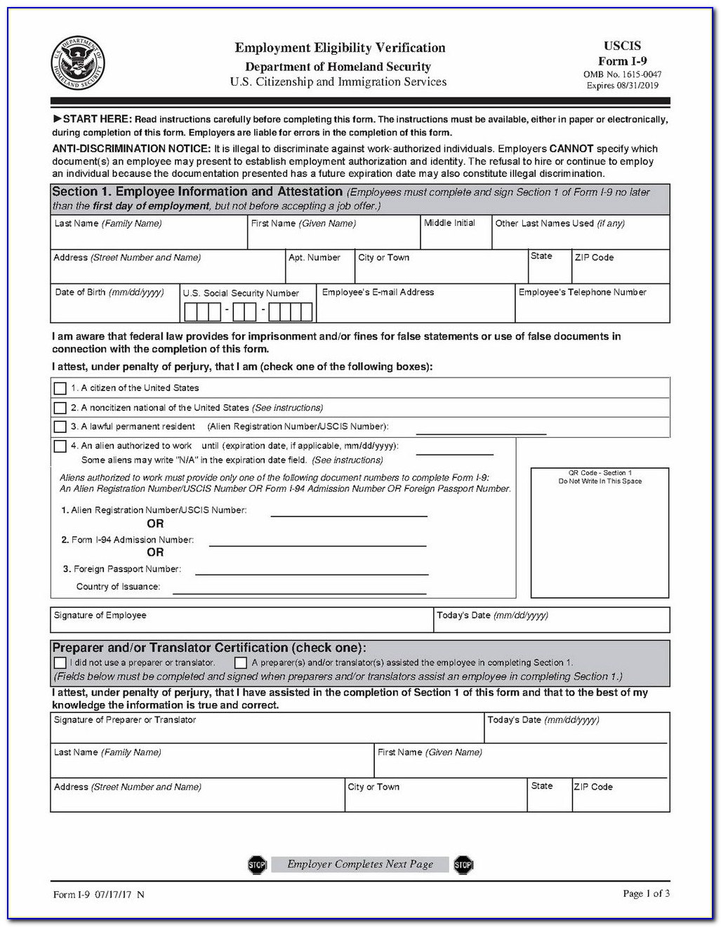 Fillable Pdf Version Of Irs W 9 Form And Instructions