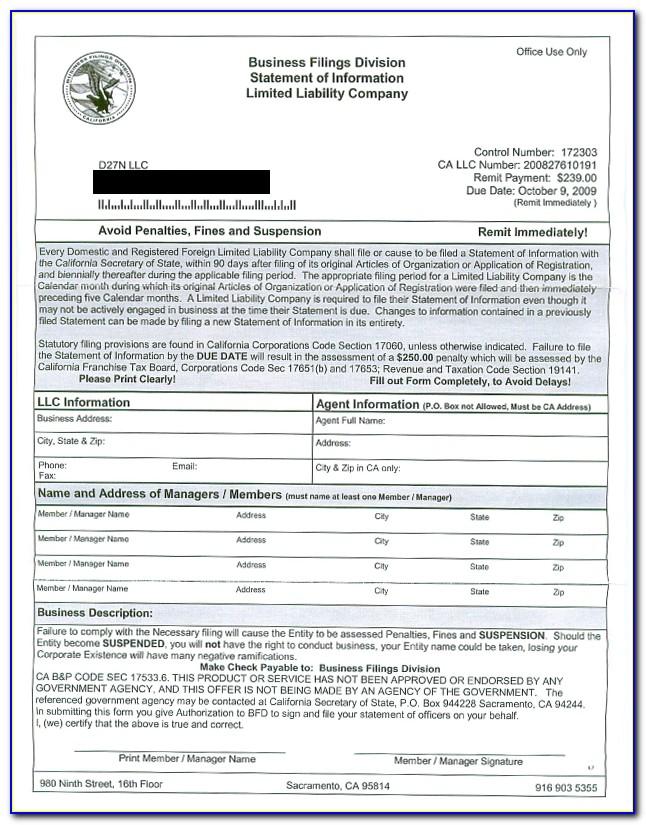 Form Llc 12r Online