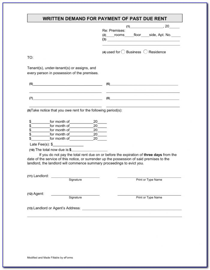 Free Nys Eviction Forms