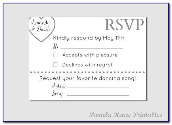 Full Form Of Rsvp Written In Wedding Cards