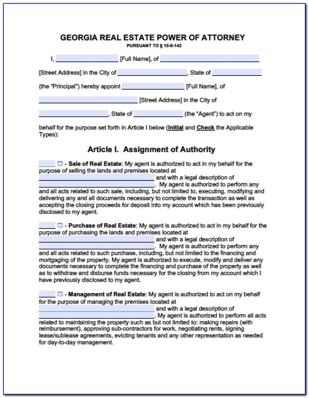 Georgia State Legal Forms