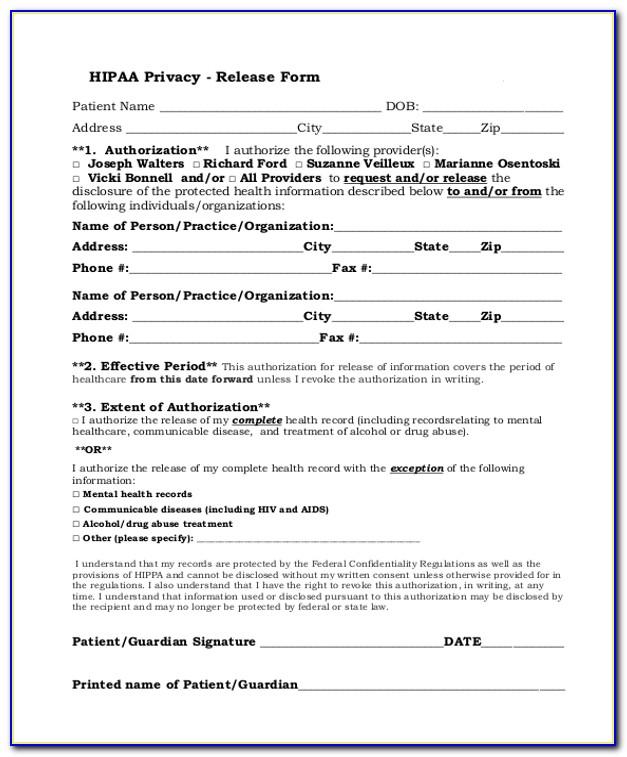 Hipaa Compliant Website Forms