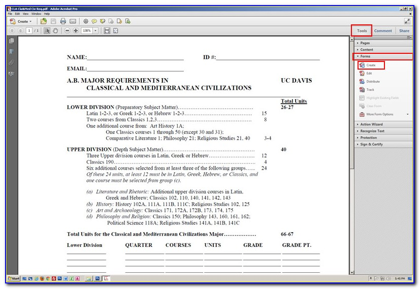 How To Create Fillable Form In Pdf From Word