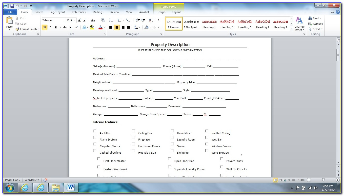 How To Create Fillable Pdf Form From Word
