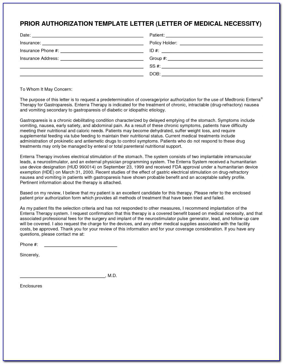 Humana Medicare Advantage Prior Authorization Forms