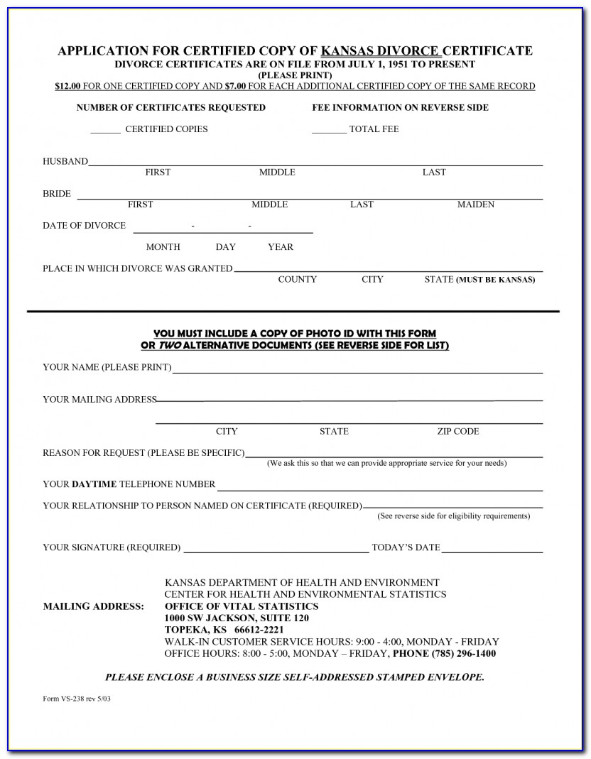 Indian Divorce Papers Format