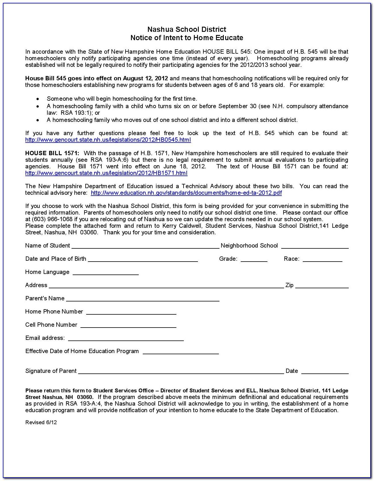 Mississippi Homeschool Registration