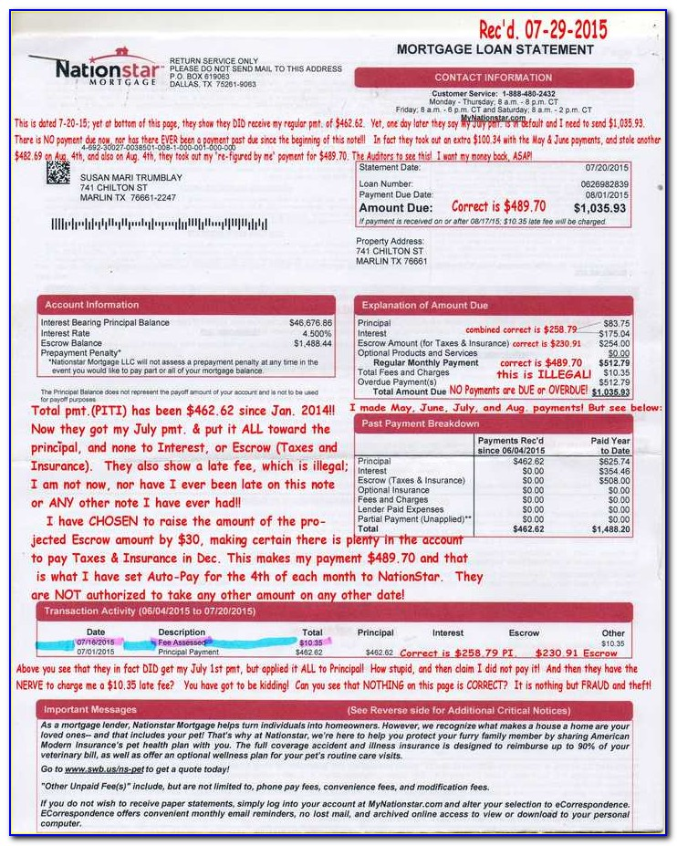 Nationstar Loan Modification Package Pdf