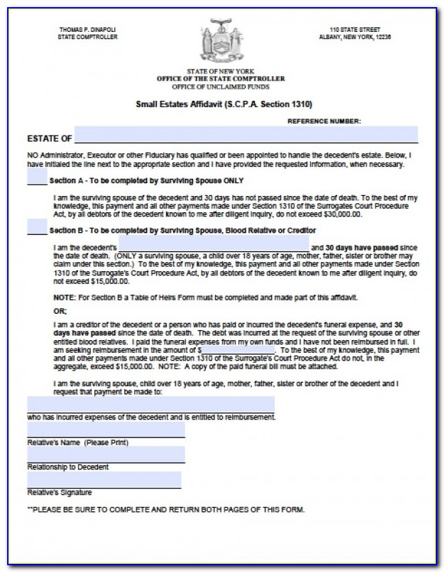 Ny Form Affidavit As To Applicant's Law Related Employment