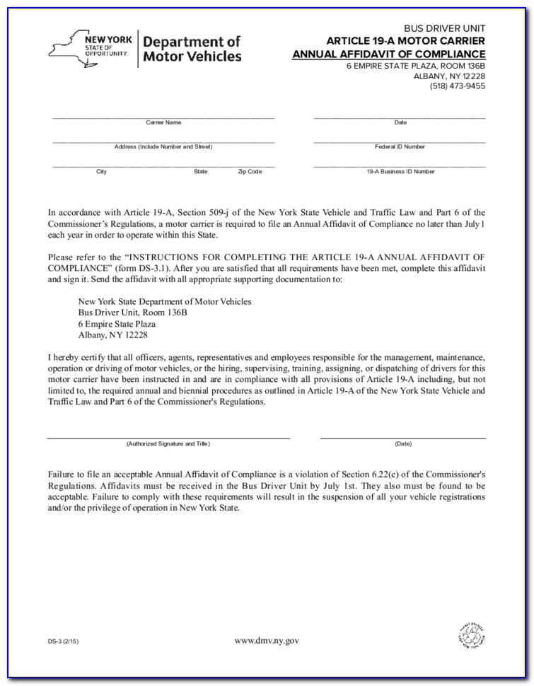 Ny Small Estate Affidavit Form
