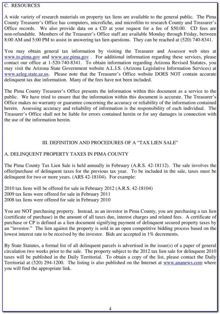 Pima County Divorce Paperwork