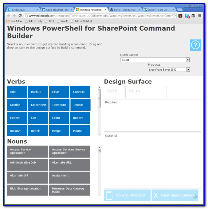 Powershell Form Builder Online