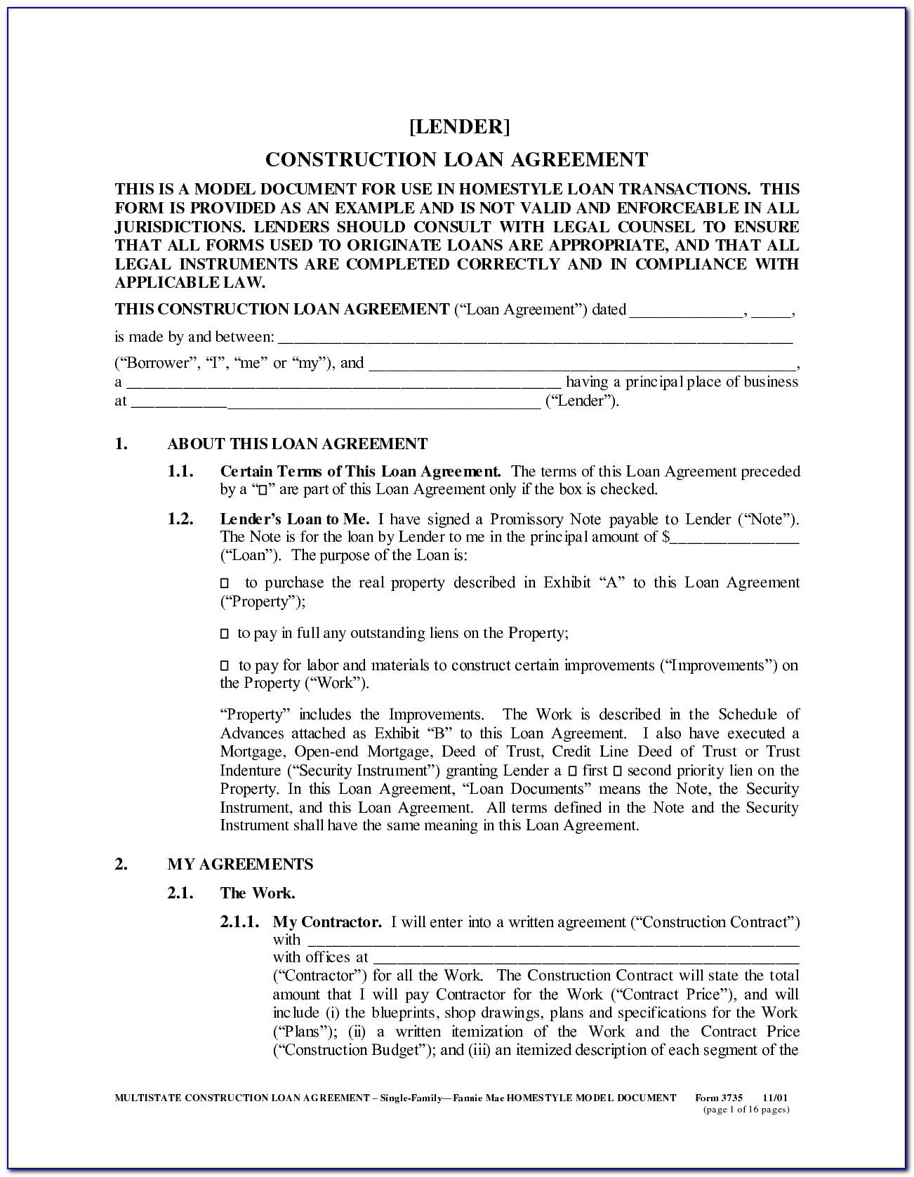 Car Loan Agreement Template Loan Agreemen Auto Loan Agreement With Private Car Loan Agreement Template