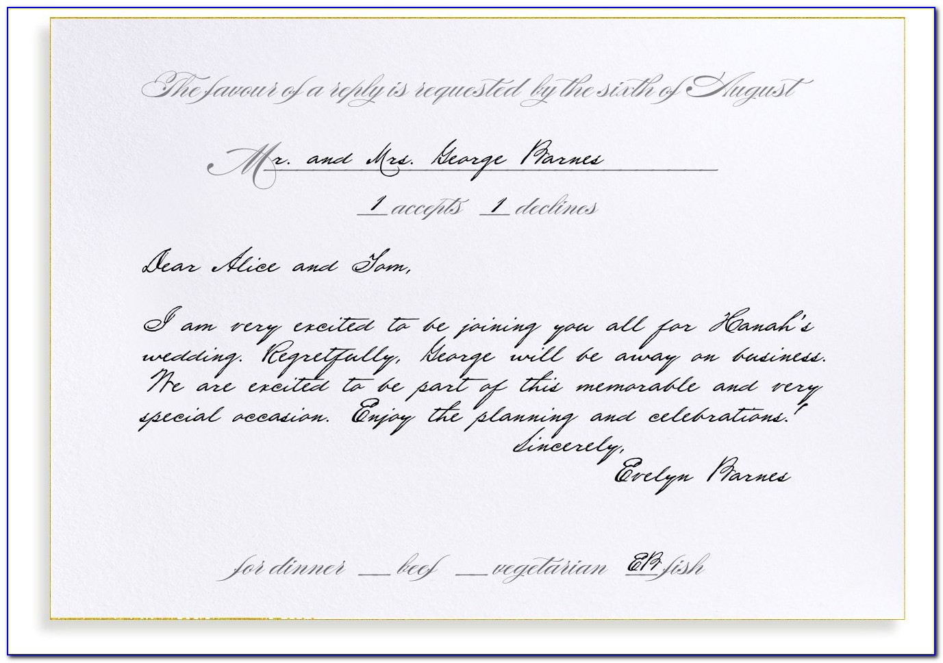 Rsvp Meaning In Wedding Cards