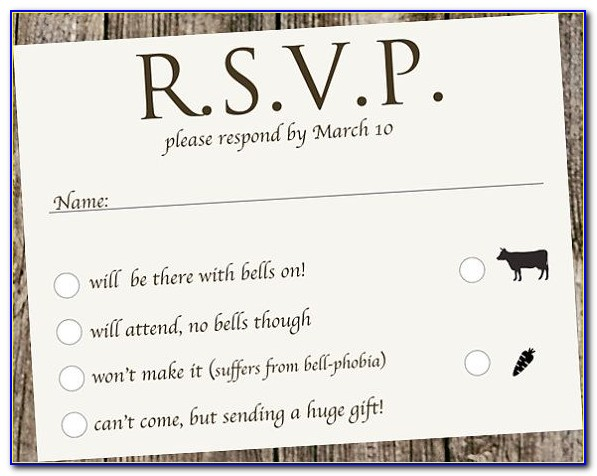 Rsvp Means In Wedding Cards