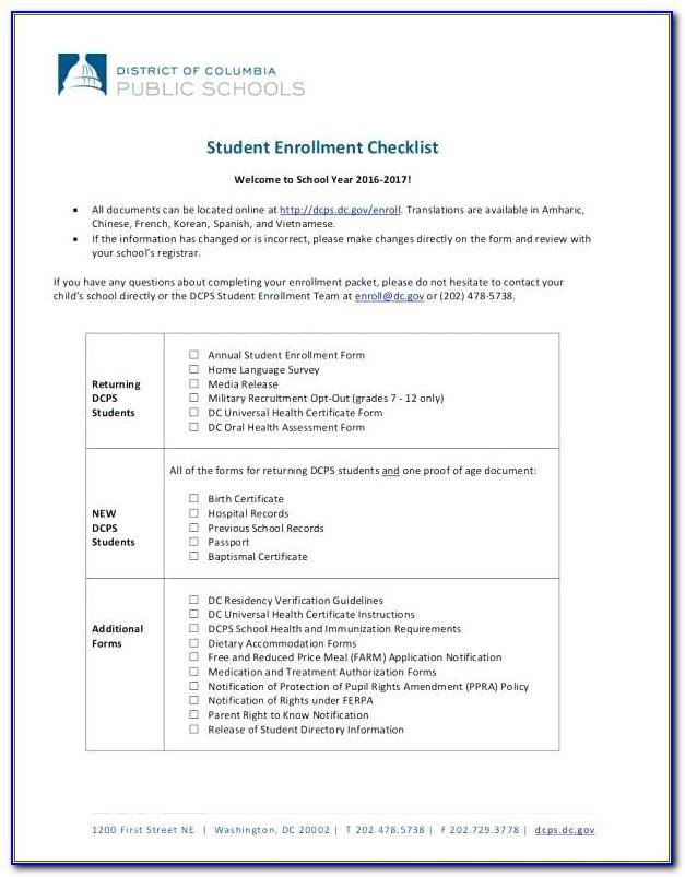 Sample Ach Enrollment Form