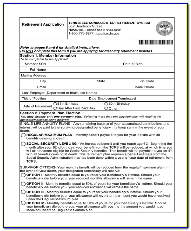 Social Security Administration Ssi Forms