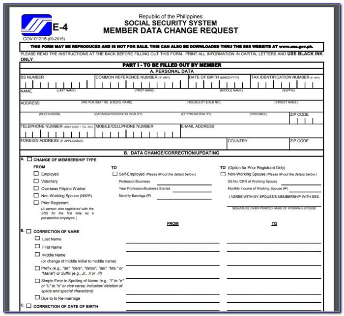 Social Security Disability Forms Pdf