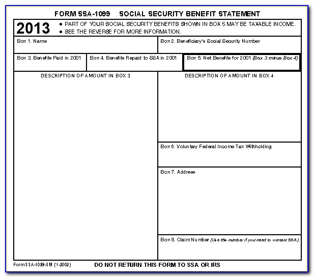 Social Security Numbers On 1099 Forms