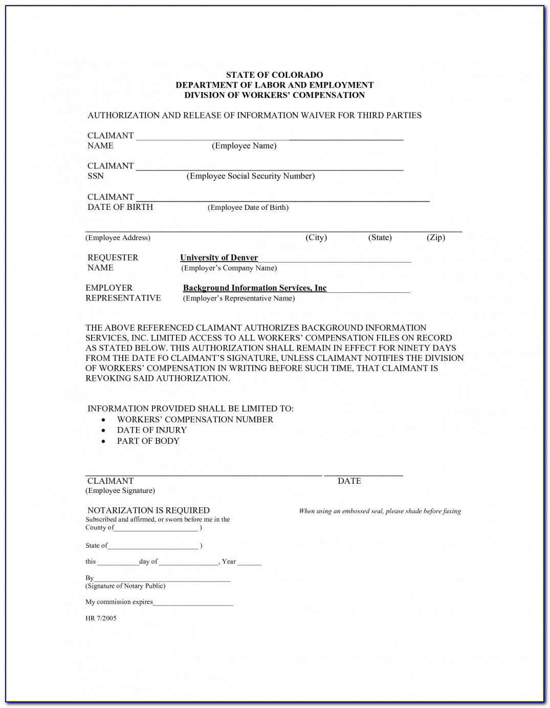 Workers Comp Insurance Waiver Form Raipurnews Throughout Workers Compensation Exemption Letter