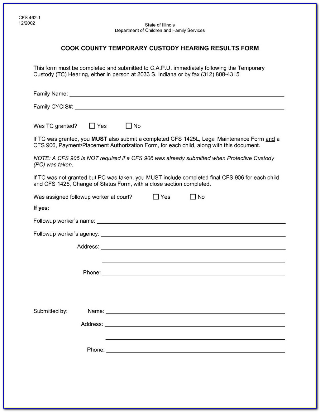 Texas Guardianship Forms For Minors