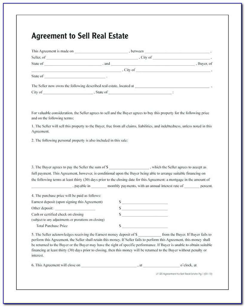 The Texas Real Estate Commission Contract Forms Call For The Title To Be Delivered By A