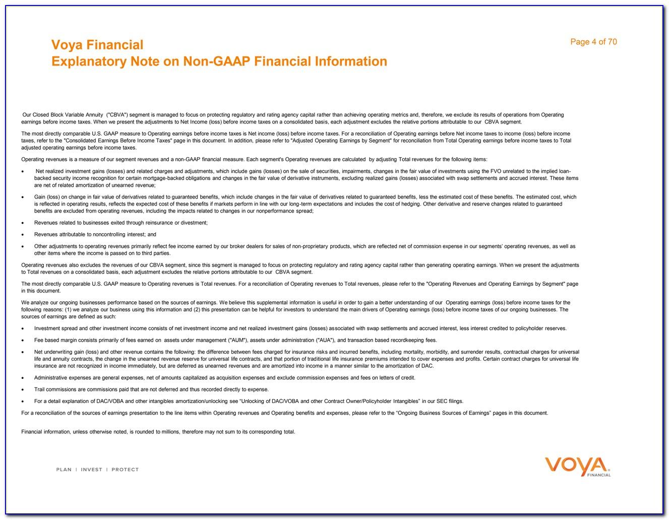 Voya Financial Annuity Withdrawal Form