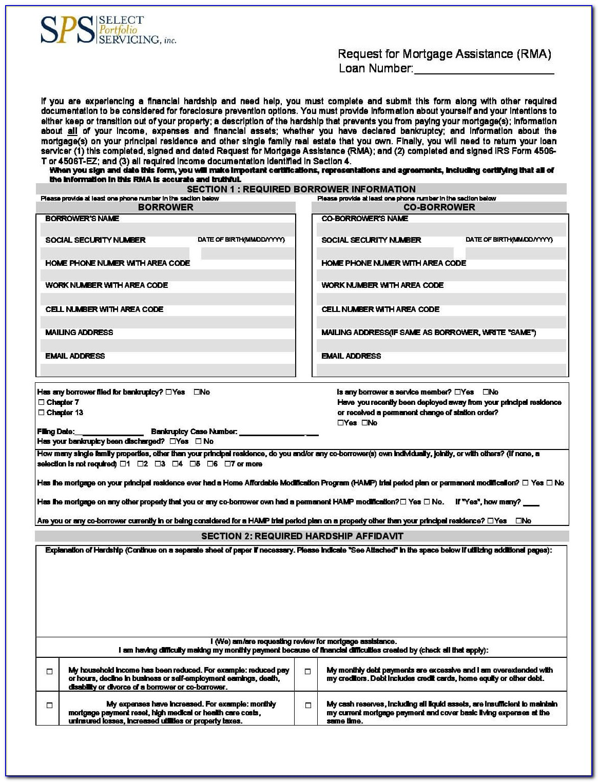 Wells Fargo Home Mortgage Modification Forms