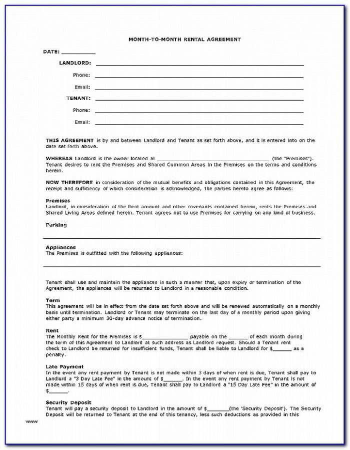 Where Can I Buy A Lease Agreement Form Awesome Free Rental Lease Agreement Forms Pdf Template