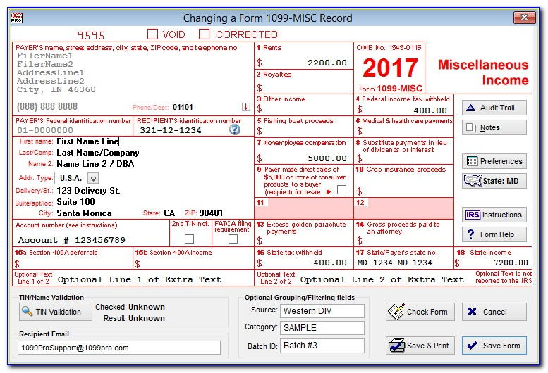 Where Can You Get 1099 Misc Forms