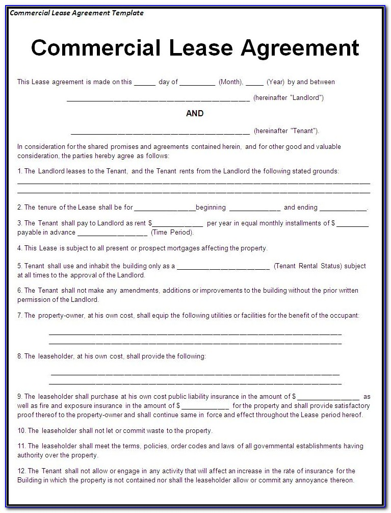 Where To Get A Lease Agreement Form