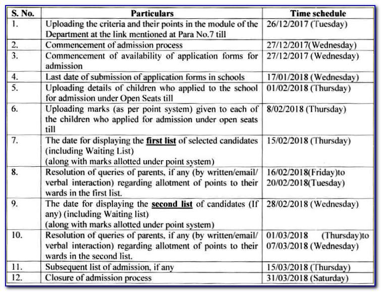 Ymca Delhi Admission Form 2017