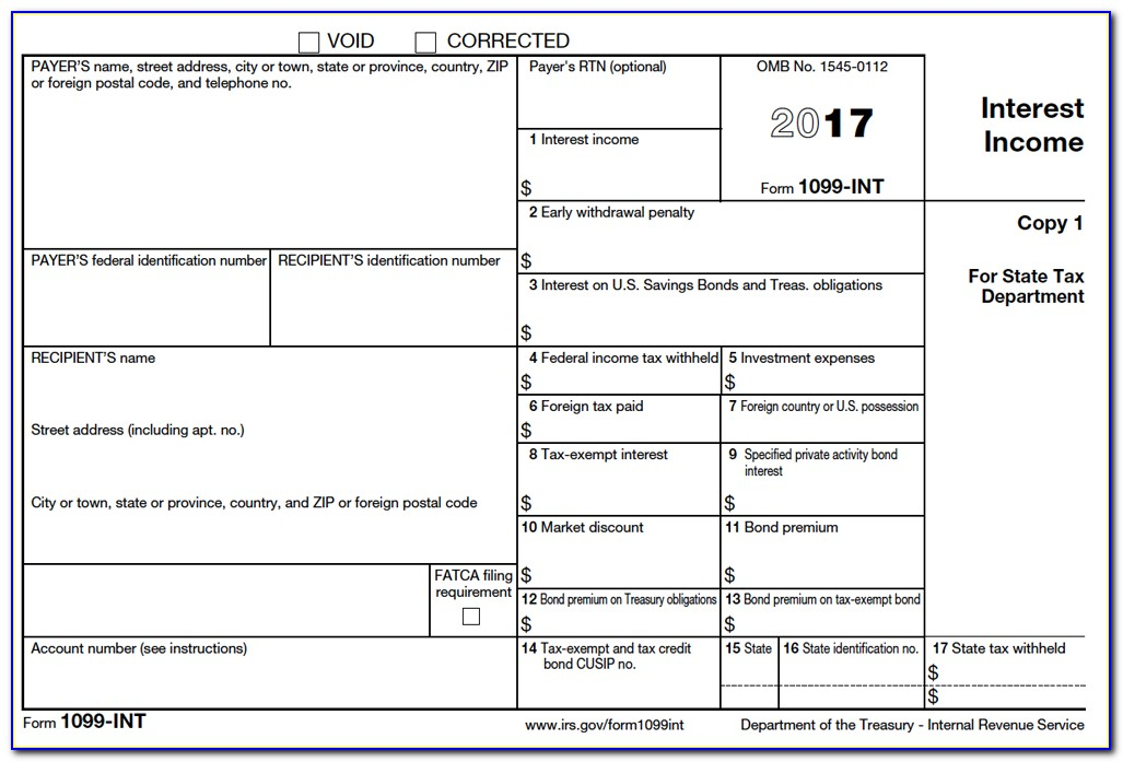 1099 R Income Tax Form