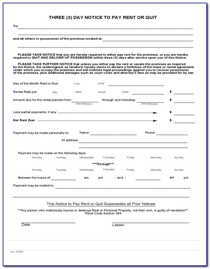 Eviction Notice Form In Spanish Form Resume Examples