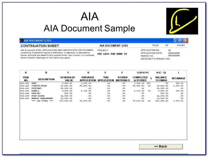 Aia Aia Document Sample