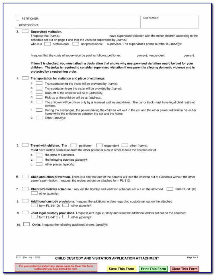 Alabama Guardianship Petition